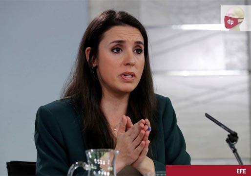 Irene Montero acusa al PSOE de pactar la salida del rey