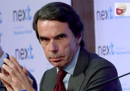 Aznar sale al rescate de Casado frente a los que le quieren relevar