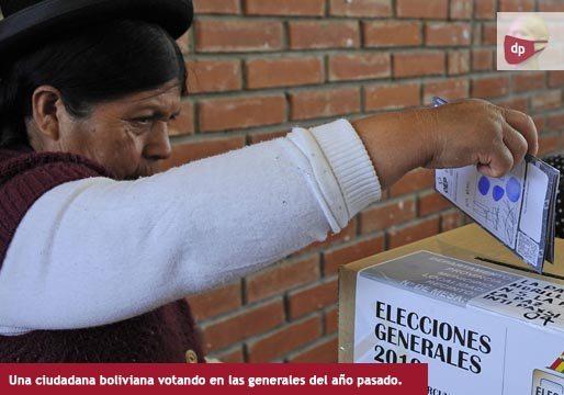 Bolivia, a las urnas