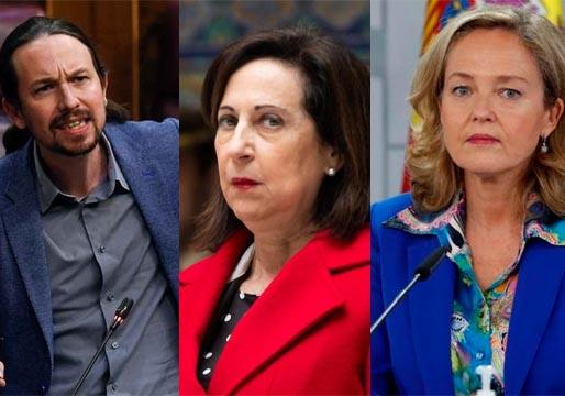 Los ministros socialistas, hartos de Pablo Iglesias