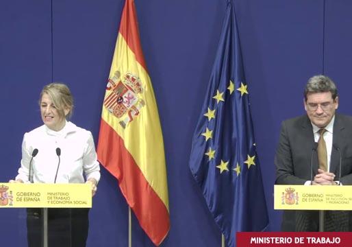 """Bronca entre ministros. Díaz a Escrivá: """"¡Yo no soy de Podemos!"""""""