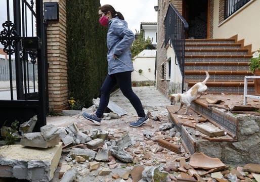 Terremotos en la provincia y en la capital de Granada