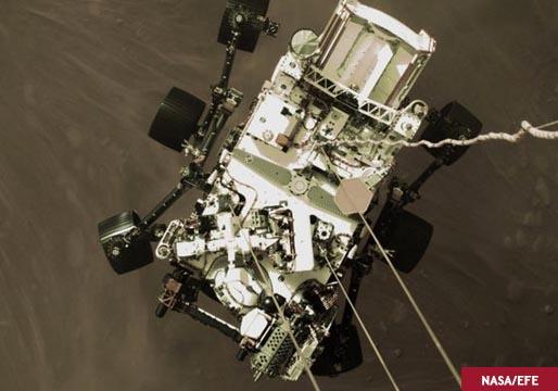 Aquí puedes escuchar el ruido de Marte