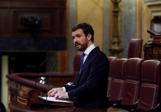 Pablo Casado pide un estado de la nación
