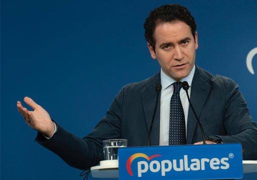 Según el PP, el PSOE deja fuera a Podemos para poder llegar a un acuerdo en el CGPJ