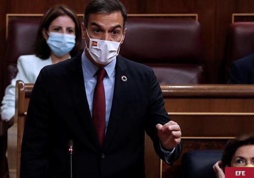 """Sánchez dice que a Casado """"se le está poniendo cara de Albert Rivera"""""""