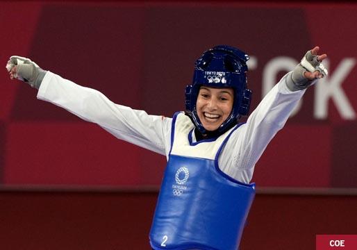 Adriana Cerezo, primera medalla olímpica para España