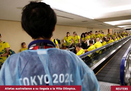 Los JJOO llevan a Japón un foco de más de cien contagiados