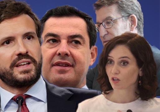 Miembros del PP buscan el relevo de Pablo Casado