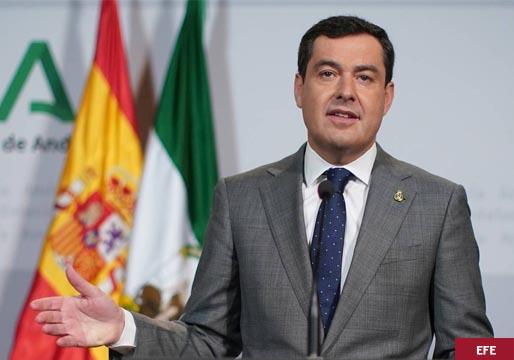 Moreno (PP) piensa adelantar las elecciones en Andalucía