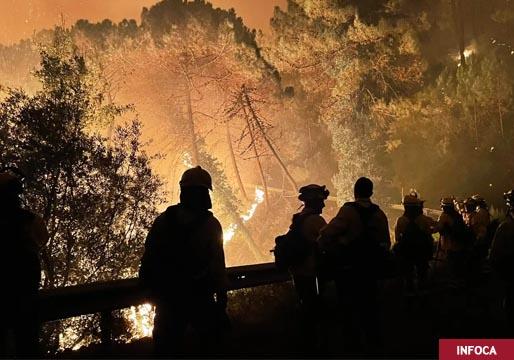Días de fuego y tragedia en el incendio de Sierra Bermeja