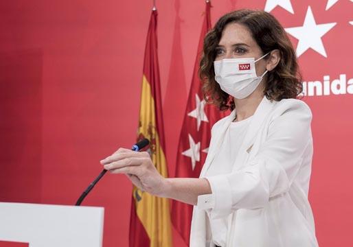 Díaz Ayuso planeaba reunirse con Biden para ridiculizar a Sánchez