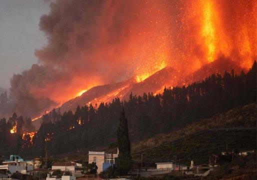 La erupción en La Palma provoca miles de evacuados