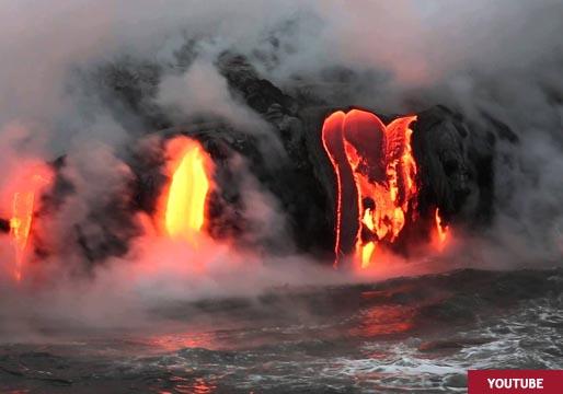 La lava se acerca al mar, ¿qué pasará entonces?
