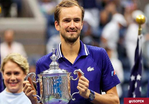 Medvedev destrona a Djokovic y se corona como nuevo rey del tenis