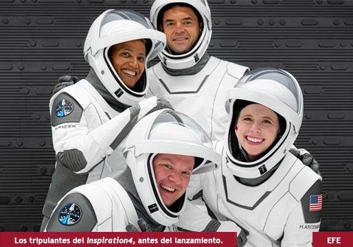 Ya está de vuelta la primera misión orbital turística