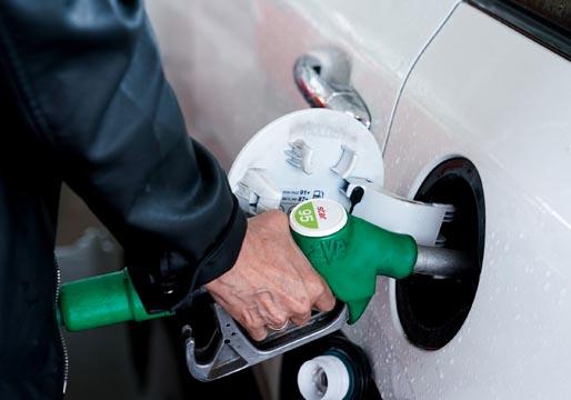 El precio de la gasolina, en máximos